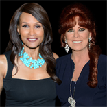 Linda with Beverly Johnson Sinatra Invitational 2014
